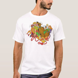 Scooby and Gang Christmas 01 T-Shirt
