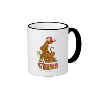 Scooby and Gingerbread House Ringer Mug