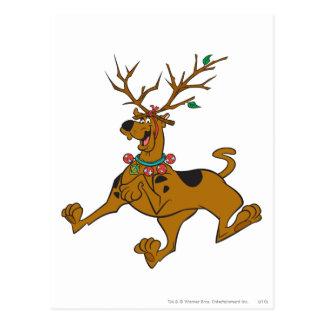 Scooby Christmas 32 Postcard