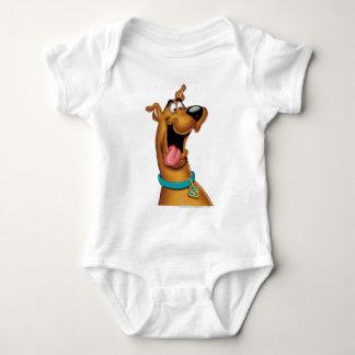 Scooby Doo Airbrush Pose 15 Baby Bodysuit