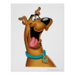 Scooby Doo Airbrush Pose 15 Poster
