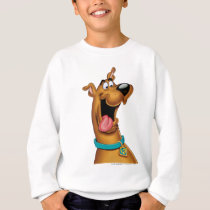Scooby Doo Airbrush Pose 15 Sweatshirt