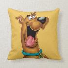 Scooby Doo Airbrush Pose 15 Throw Pillow
