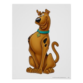 Scooby Doo Airbrush Pose 1 Poster