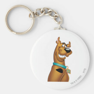 Scooby Doo Airbrush Pose 22 Basic Round Button Keychain