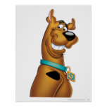 Scooby Doo Airbrush Pose 22 Poster
