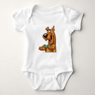 Scooby Doo Airbrush Pose 23 Baby Bodysuit