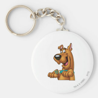 Scooby Doo Airbrush Pose 23 Basic Round Button Keychain