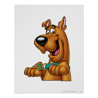 Scooby Doo Airbrush Pose 23 Poster