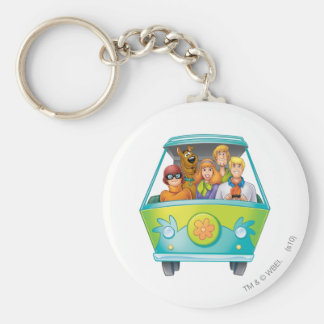 Scooby Doo Airbrush Pose 25 Keychain