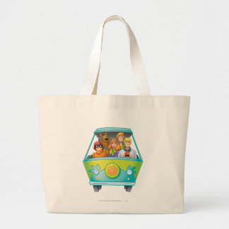 Scooby Doo Airbrush Pose 25 Large Tote Bag