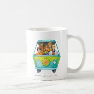 Scooby Doo Airbrush Pose 25 Classic White Coffee Mug