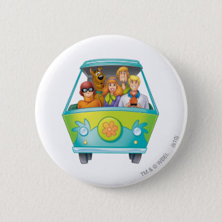 Scooby Doo Airbrush Pose 25 Pinback Button