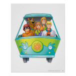 Scooby Doo Airbrush Pose 25 Poster