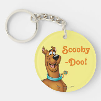Scooby Doo Airbrush Pose 3 Keychain