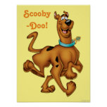 Scooby Doo Airbrush Pose 3 Poster
