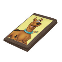 Scooby Doo Airbrush Pose 3 Tri-fold Wallets