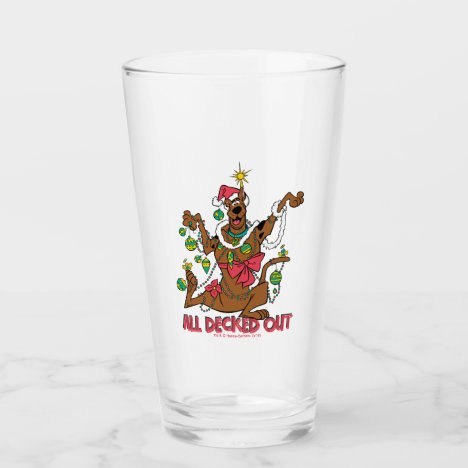 Scooby-Doo All Decked Out Glass