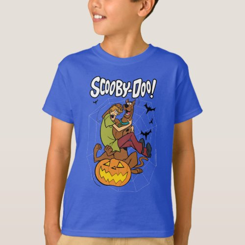 Scooby_Doo and Shaggy Halloween Fright T_Shirt