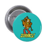 Scooby-Doo and Shaggy Zoinks! 2 Inch Round Button