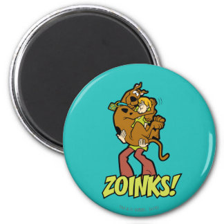 Scooby-Doo and Shaggy Zoinks! Magnet