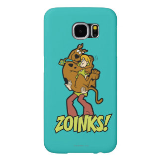 Scooby-Doo and Shaggy Zoinks! Samsung Galaxy S6 Cases