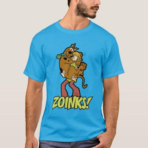 Scooby_Doo and Shaggy Zoinks T_Shirt