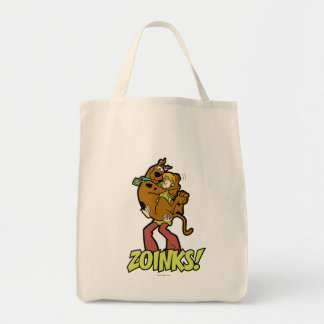 Scooby-Doo and Shaggy Zoinks! Tote Bag