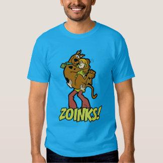 Scooby-Doo and Shaggy Zoinks! Tshirts