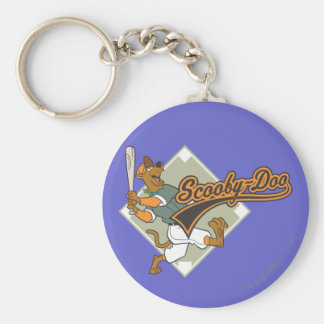 Scooby Doo Baseball Keychain