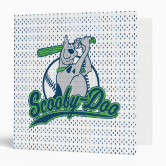 Scooby-Doo Baseball Logo 3 Ring Binder