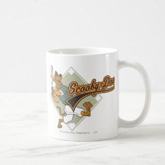 Scooby Doo Baseball Classic White Coffee Mug