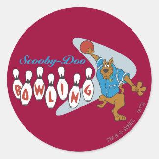"""Scooby Doo """"bolos """" 1 Pegatina Redonda"""