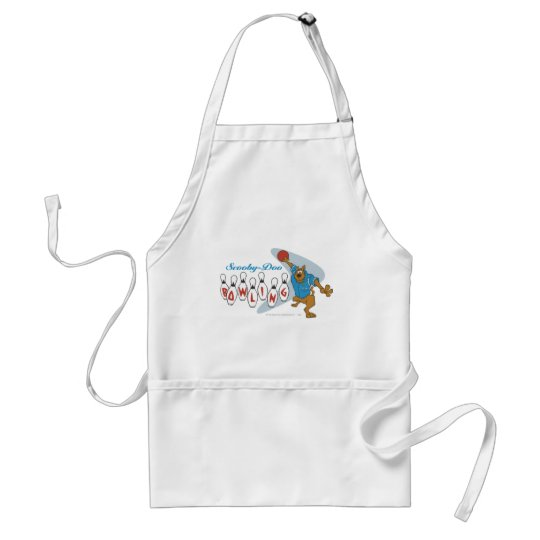 """Scooby Doo """"Bowling""""1 Adult Apron"""
