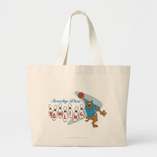 """Scooby Doo """"Bowling""""1 Large Tote Bag"""