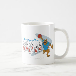 "Scooby Doo ""Bowling""1 Classic White Coffee Mug"
