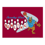 "Scooby Doo ""Bowling""1 Postcard"