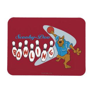"Scooby Doo ""Bowling""1 Rectangular Photo Magnet"