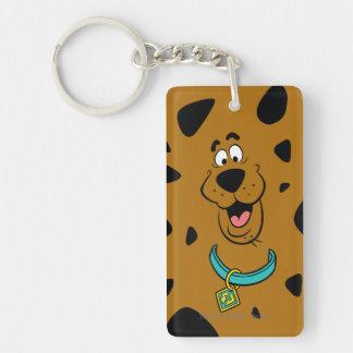 Scooby-Doo Camouflage Keychain