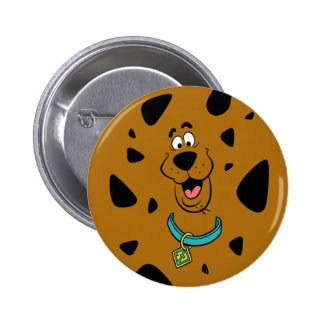 Scooby-Doo Camouflage Pinback Button