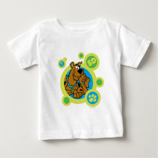 Scooby-Doo Circles SD Badge Baby T-Shirt