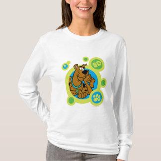 Scooby-Doo Circles SD Badge T-Shirt