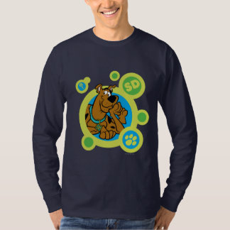 Scooby-Doo Circles SD Badge T-Shirt