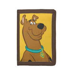 Scooby Doo | Classic Pose Trifold Wallets at Zazzle