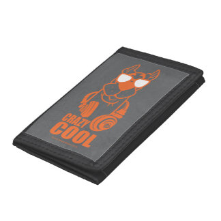 """Scooby-Doo """"Crazy Cool"""" Headphone Graphic Trifold Wallet"""