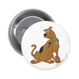 Scooby Doo Cuter Than Cute Pose 12 Button