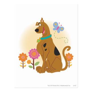 Scooby Doo después de Butterfly1 Postal