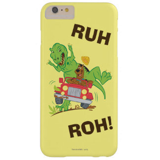 Scooby Doo Dinosaur Attack1 Barely There iPhone 6 Plus Case