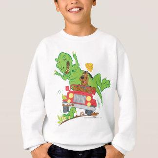 Scooby Doo Dinosaur Attack1 Sweatshirt