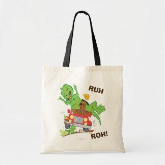 Scooby Doo Dinosaur Attack1 Tote Bag